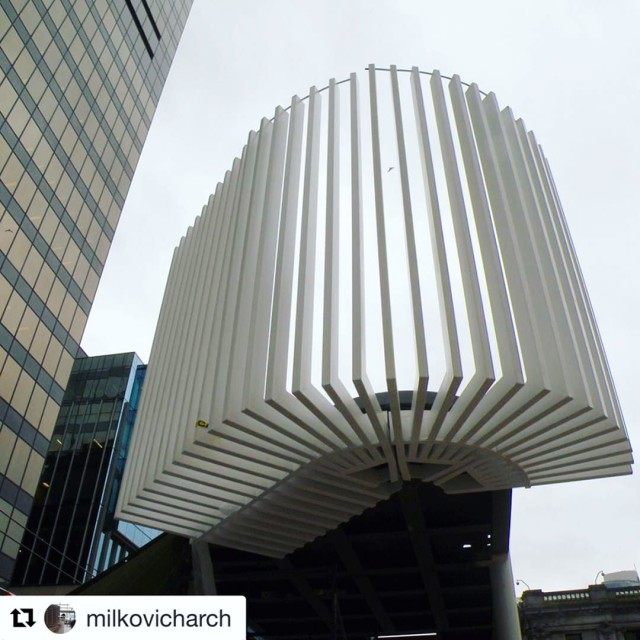 The pavilion is shaping up nicely! Repost milkovicharch with hellip
