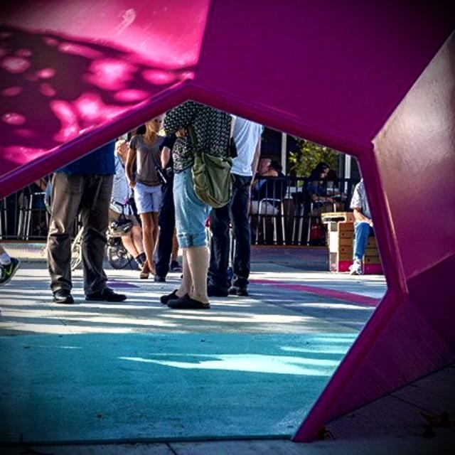 Our Megaphone at Jim Deva Plaza is featured on thehellip