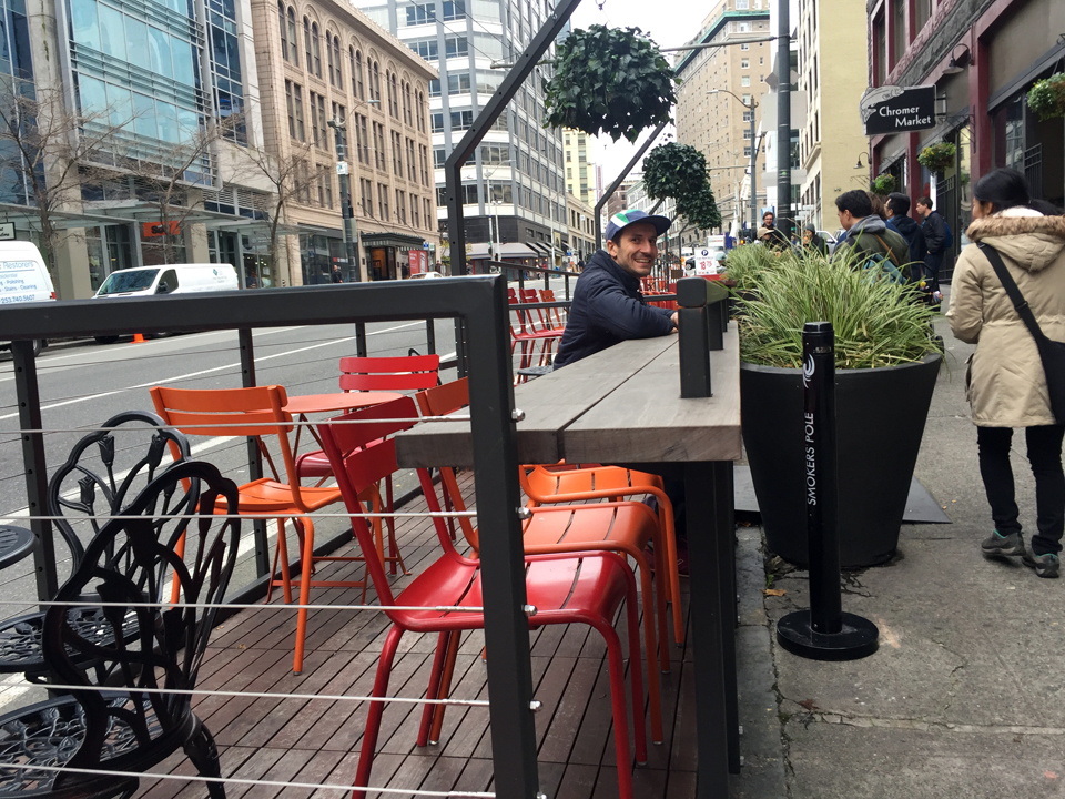 Chromer Building Parklet & Streatery by GGN.